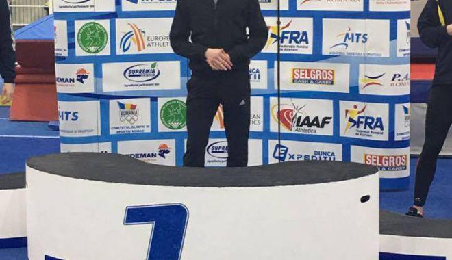 Foto: Atletul constănţean Răzvan Grecu,  campion balcanic la Sofia