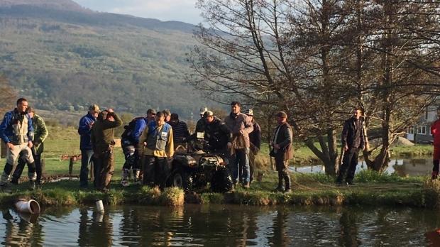 Foto: Accident şocant de ATV. Un bărbat a fost găsit mort într-un lac, după 10 ore de căutări