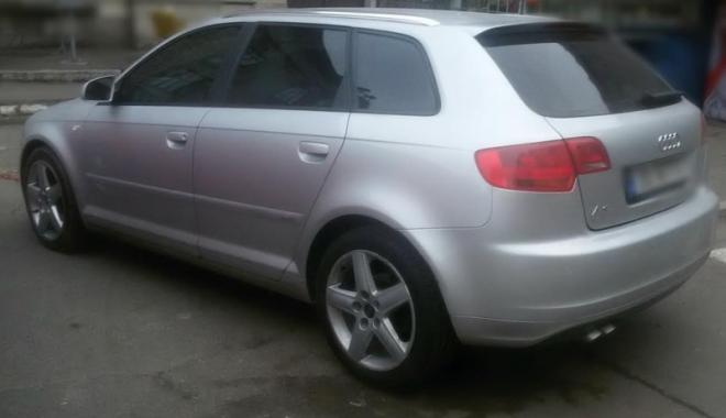 Foto: Audi căutat  pentru confiscare în Norvegia, descoperit în Portul Constanţa