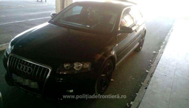 Foto: Un român care s-a întors din Italia a rămas fără maşină! Ce au descoperit poliţiştii