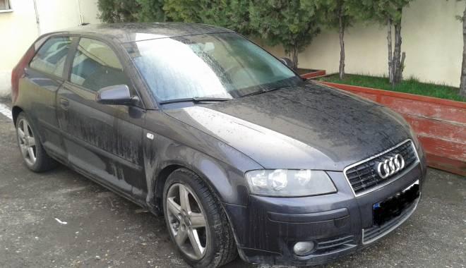 Foto: Audi furat din Italia, găsit la Constanţa