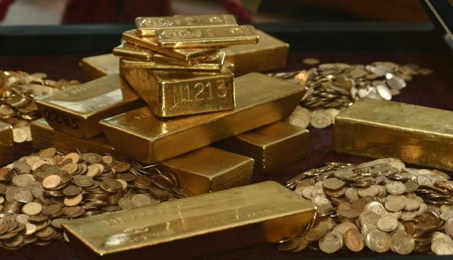 Foto: Preţul aurului, la un nou record istoric