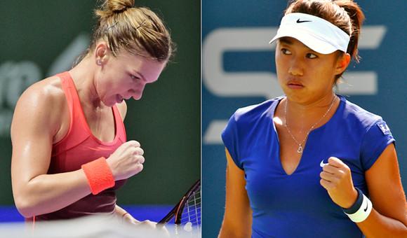 Foto: Simona Halep, eliminat� �n primul tur la Australian Open de num�rul 133 WTA
