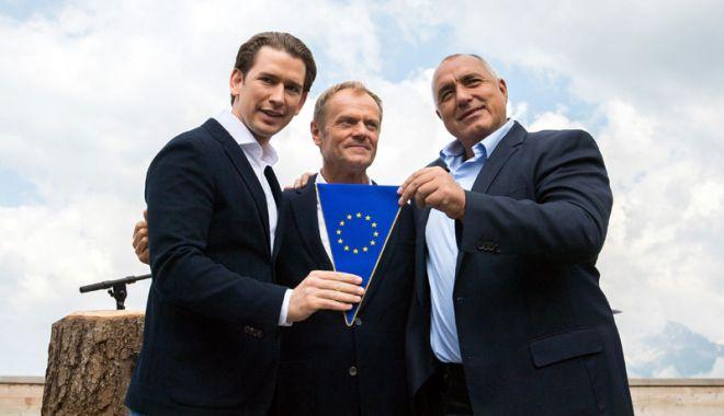 """Foto: """"Austria va folosi preşedinţia UE pentru a construi o Europă care protejează"""""""