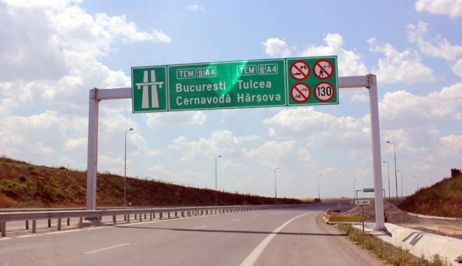 Foto: ATENŢIE ŞOFERI! SE ÎNCHIDE Autostrada Soarelui pentru reparații