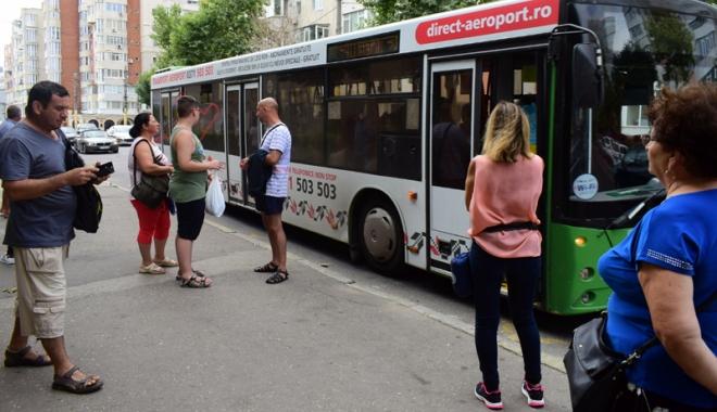 Foto: Autobuzele de pe linia 5 - 40, traseu până la Pavilionul Expoziţional