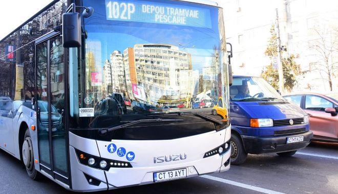 Foto: Încă un lot de autobuze noi, pe străzile din Constanţa