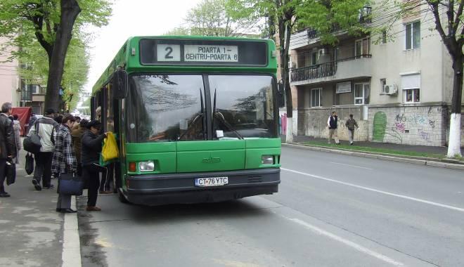 Foto: RATC. Vezi aici ce autobuze îşi schimbă traseul începând de mâine dimineaţă