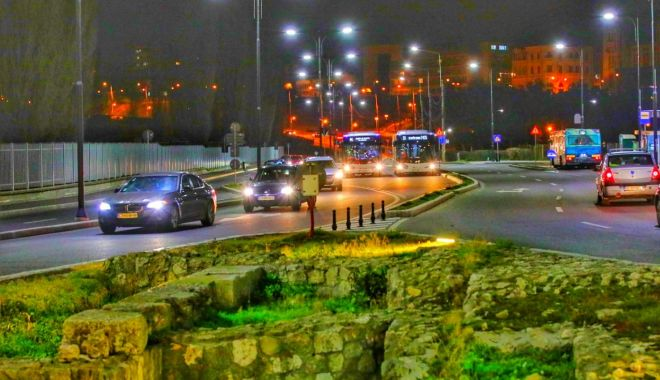 Foto: Autobuzele CT Bus circulă și noaptea, pe patru linii, în Constanța și Mamaia