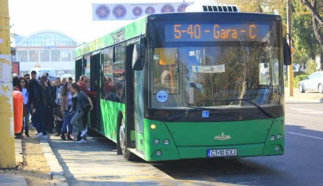 Foto: Cum vor circula autobuzele RATC  în minivacanţa de 1 Decembrie