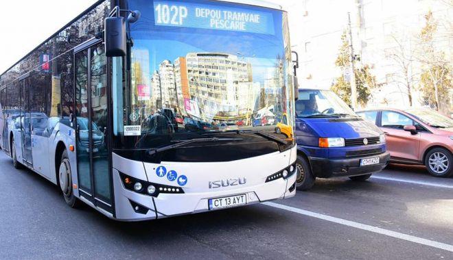 Foto: Autobuzele RATC au program de week-end în mini-vacanţa  de Paşte şi 1 Mai