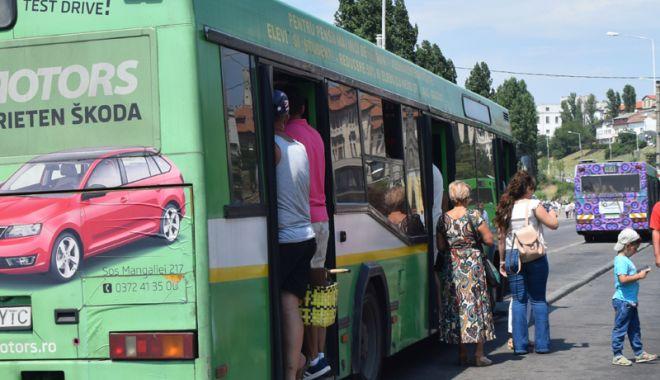 Foto: Autobuze până la ora 12 noaptea, pe trei trasee  din Constanţa