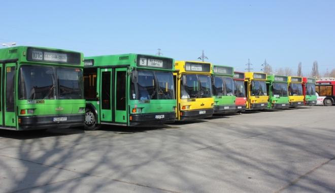 Foto: Anunţ de la RATC. Cum vor circula autobuzele în minivacanţa de 1 Decembrie