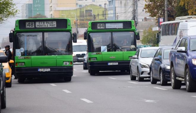 Foto: Autobuzele RATC, în program de week-end până la începutul săptămânii viitoare