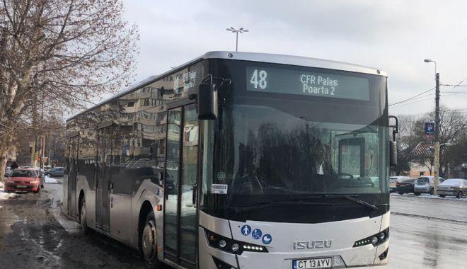 Foto: Un nou lot de autobuze noi intră pe trasee,  în Constanţa