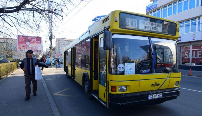 """Foto: """"Fiecare autobuz a fost verificat de cel puţin o dată pe lună"""""""