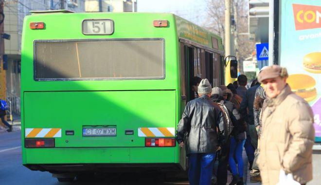 Foto: Constănţeni, atenţie! RATC suspendă circulaţia liniei 51B