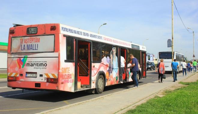 Foto: Autobuzele 5 - 40 circulă deviat, sâmbătă