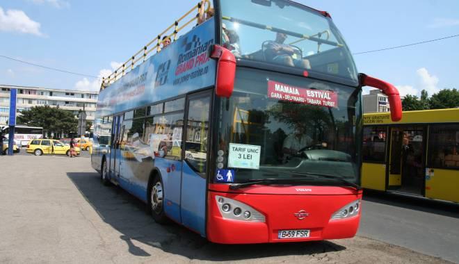 Foto: RATC scoate de pe traseu autobuzele din Mamaia