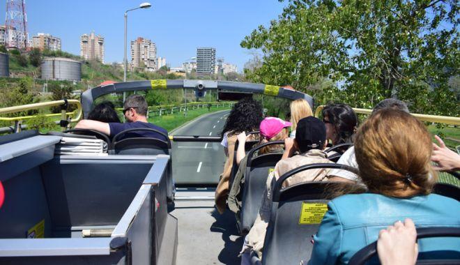 """Foto: CiTy Tour, de Zilele Constanţei, cu vizitarea în port  a Bricului """"Mircea"""""""