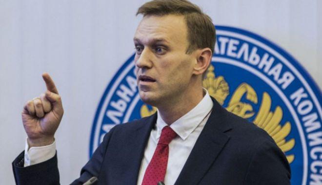 Foto: Autoritățile ruse l-au eliberat  pe opozantul  Aleksei Navalnîi