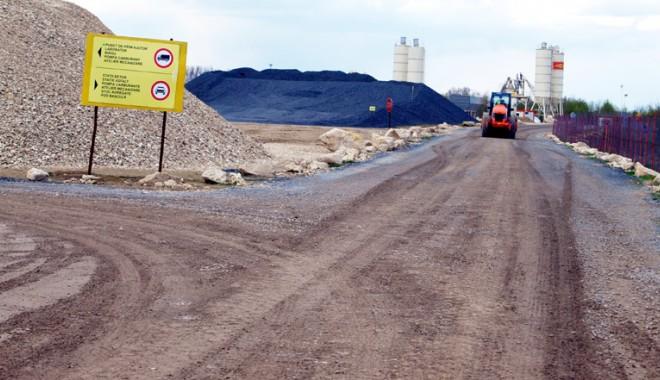 Tronsonul de autostradă Murfatlar-Constanţa, finalizat până la sfârşitul acestei luni