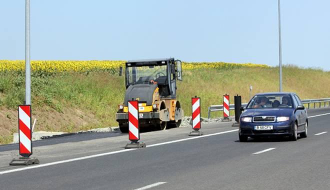Foto: Autostrada Soarelui, băgată în reparaţii