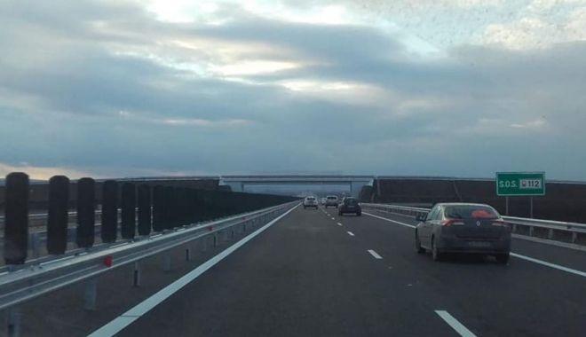 Foto: S-a redeschis circulația pe A2, între București și Drajna