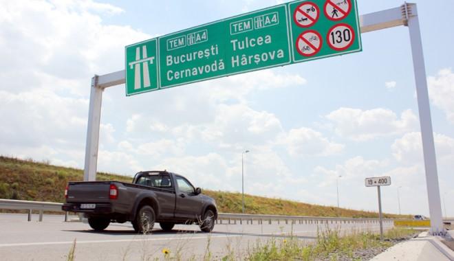 """Foto: Taxarea autostrăzilor / """"De la Piteşti până la CONSTANŢA ... 3 euro pe suta de kilometri"""""""