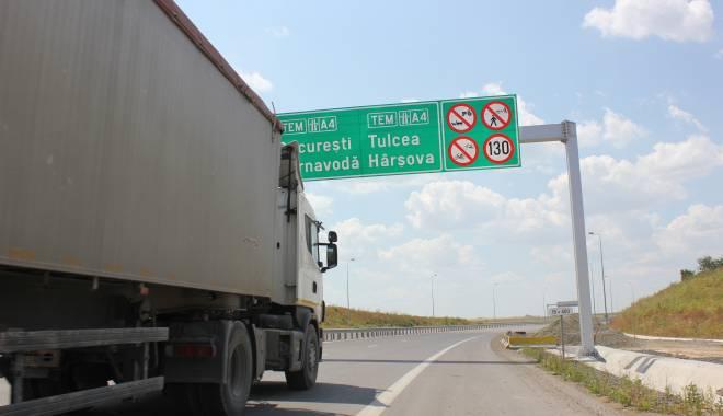 Foto: Atenţie şoferi! Restricţii pe Autostrada Soarelui, începând din 1 iulie
