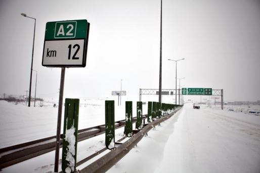 """Foto: Autostrada Soarelui ar putea fi deschisă complet, în această seară. """"S-au angajat că vor termina"""""""
