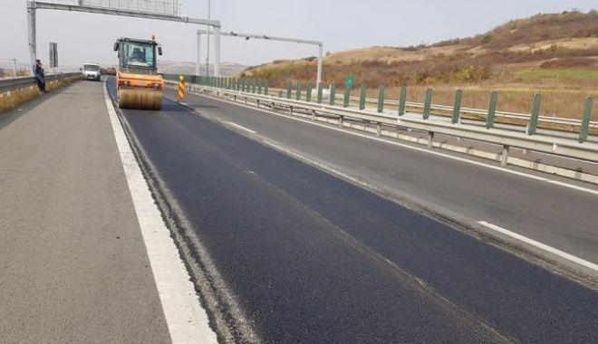 Foto: 21 de kilometri de autostradă vor fi deschiși până la finele anului