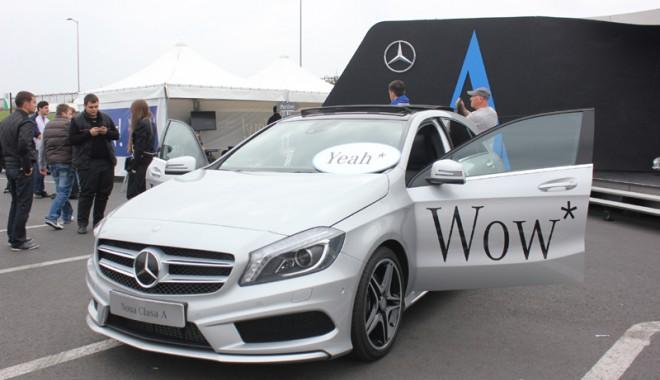 Foto: Constănţenii pot testa cel mai nou model Mercedes - Benz