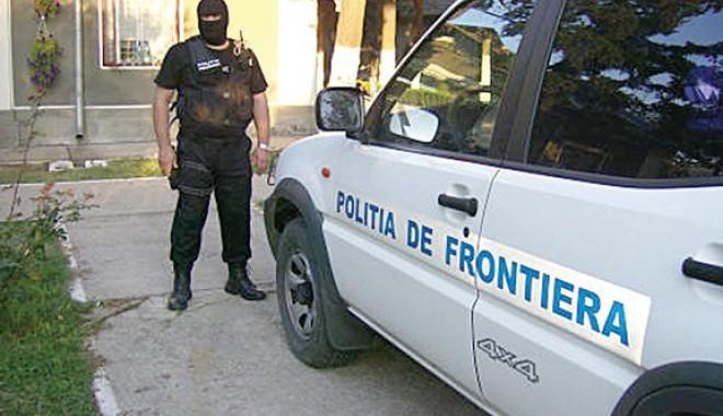 Foto: Autoturism căutat în Italia,  confiscat de poliţiştii de frontieră