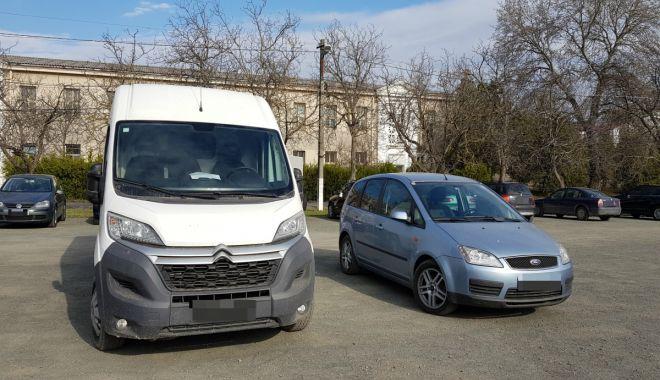 Foto: Autovehicule furate din Austria şi Belgia, descoperite la Constanţa