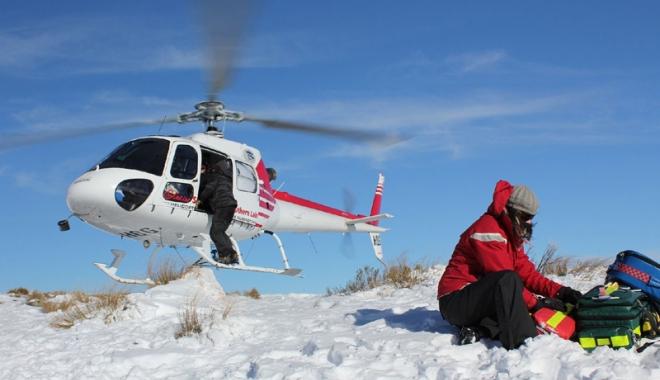 Foto: Avalanşă în Alpii Francezi. Trei oameni şi-au pierdut viaţa