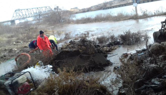 Foto: Se prelungeşte avaria de la Năvodari. Consumatorii din Ovidiu şi Năvodari vor avea din nou apă după-amiază