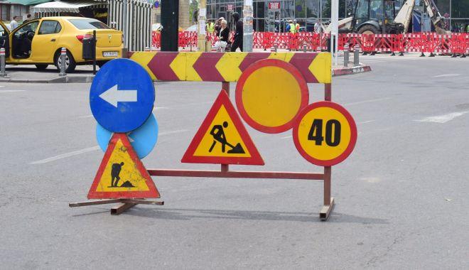 Foto: Atenție, constănțeni! Trafic restircționat pe bulevardul Mamaia