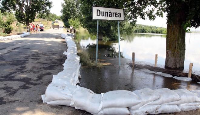 Foto: Avertizare hidrologică pe Dunăre. Este vizat şi judeţul Constanţa