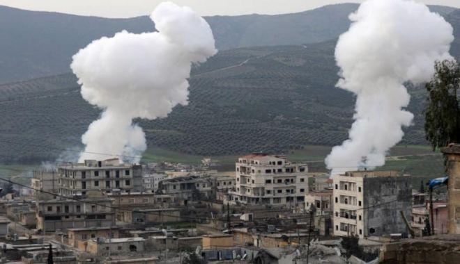 Foto: Aviaţia turcă a ucis zeci de combatanţi pro-guvernamentali la Afrin
