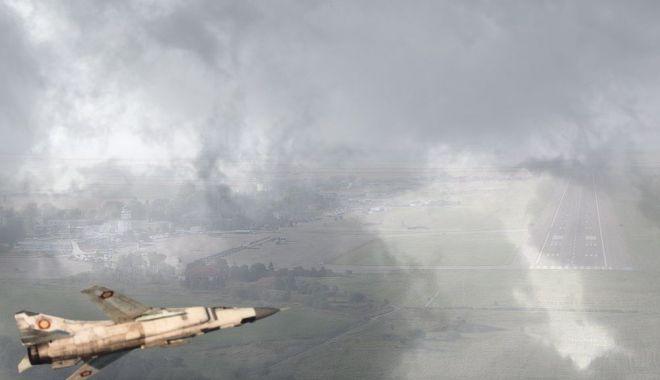 Foto: Din istoria aviaţiei militare. O aterizare dificilă, pe aeroportul Mihail Kogălniceanu (II)