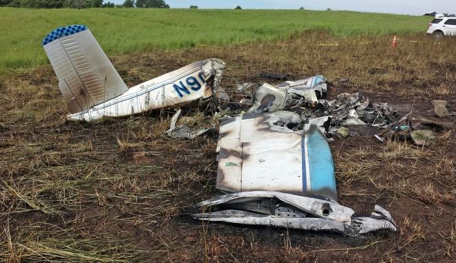 Foto: Accident aviatic. Toţi pasagerii au murit