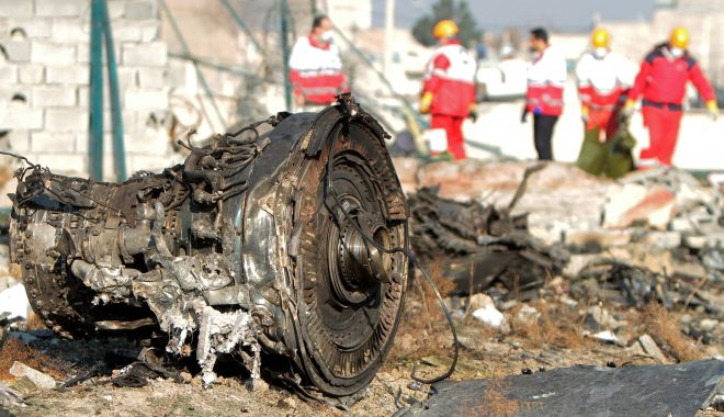 Foto: Avion ucrainean doborât! Volodimir Zelenski cere pedepsirea celor vinovați