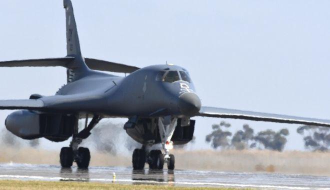 Foto: Bombardiere americane de tip B-1B Lancer, misiuni în spațiul aerian al României