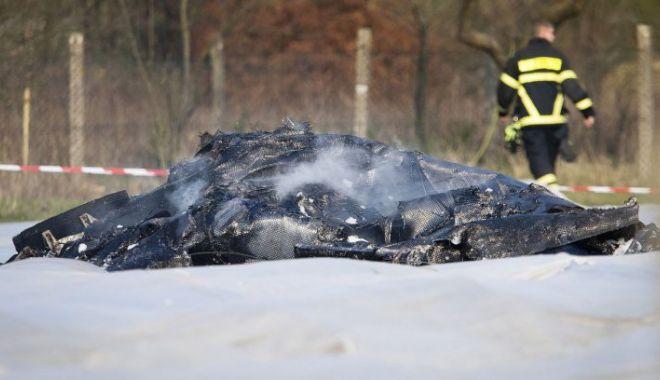 Foto: Avion prăbușit în Germania! Niciun supravieţuitor