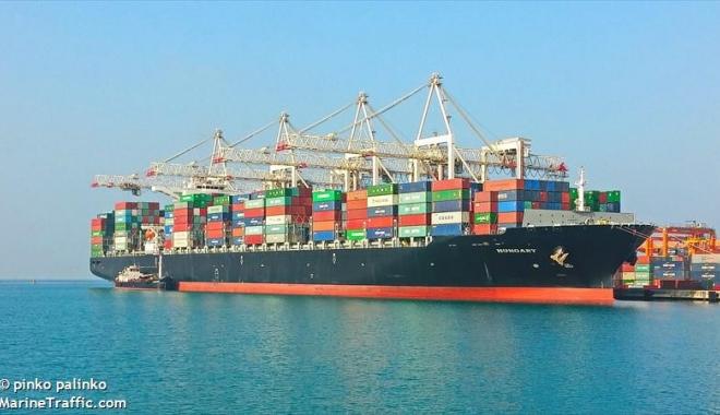 Foto: 20 de nave portcontainer şi-au anunţat sosirea la Constanţa