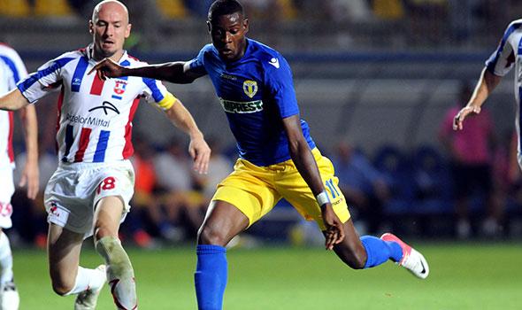 Foto: Jucătorul Petrolului, Jeremy Bokila, dorit de Steaua. Transferul este incert