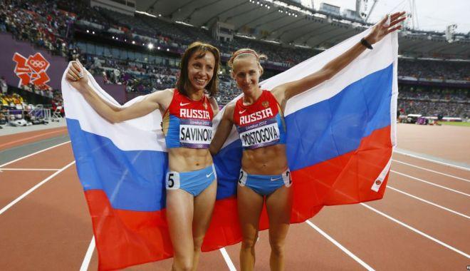 Foto: Atleţii ruşi vor concura sub drapel neutru. Agenţia Mondială de Antidopaj nu iartă