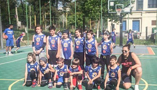"""Foto: Baby """"Gladiatorii din Tomis"""",  la turneul Junior Cup de la Galaţi"""