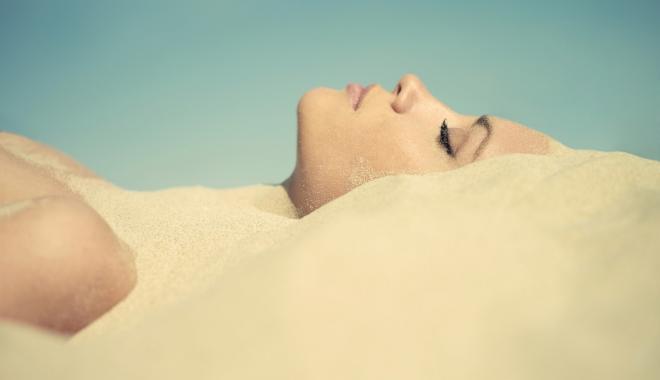 Foto: Efectele uimitoare ale terapiei cu nisip